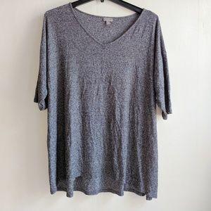 J.jill wearever collection top plus size 2x